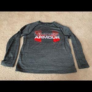 Boys Under Armour long sleeve shirt size small